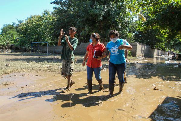 Honduras Hurricane Eta relief